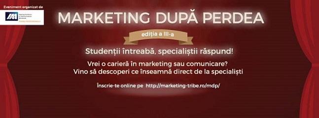 9-17 noiembrie Marketing După Perdea