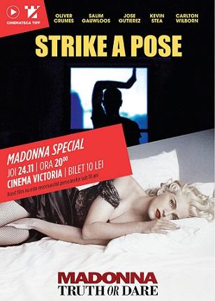 O seară cu Madonna la Cinemateca TIFF