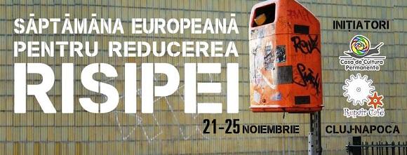 21-26 noiembrie Săptămâna Europeană pentru Reducerea Risipei