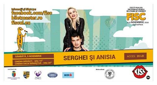5 noiembrie FISC – Serghei și Anisia