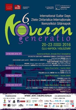20-23 noiembrie Zilele Chitaristice Internationale