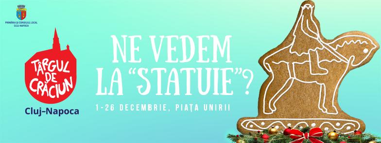 01 decembrie Deschidere Targ de Crăciun