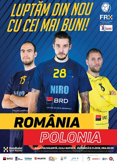 handbal Romania-Polonia