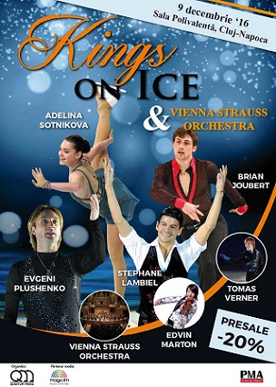 09 decembrie Kings on ice & Vienna Strauss Orchestra