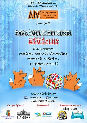 17-18 decembrie Târg multicultural AIVIcluj