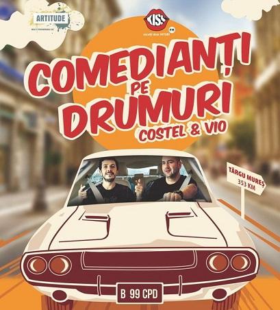 Comedianţi pe drumuri – Vio şi Costel
