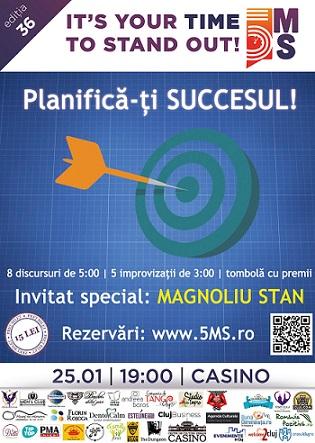 """5MS CLUJ – Ediţia 36 : """"PLANIFICĂ-ȚI SUCCESUL"""""""