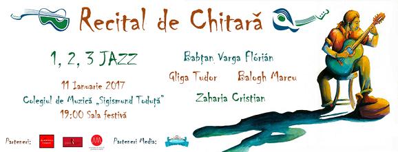 11 ianuarie Recital de Chitară