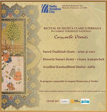 Muzica persană pentru prima dată la Cluj
