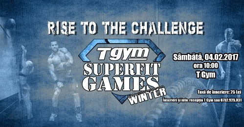 T Gym SuperFit Games Winter