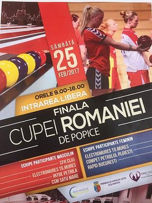 Finala Cupei României la Popice