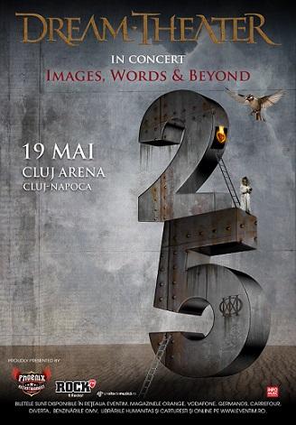 Concertul Dream Theater de la Cluj se muta în incinta Cluj Arena
