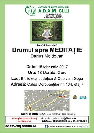 15 februarie Drumul spre Meditaţie