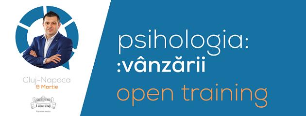 9 martie Training Psihologia Vânzării