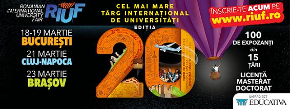 21 martie The Romanian International University Fair