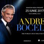 Andrea Bocelli transmite un mesaj emoționant tuturor femeilor din România cu ocazia zilei de 8 martie