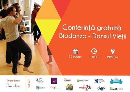 22 martie Biodanza – Dansul Vieții