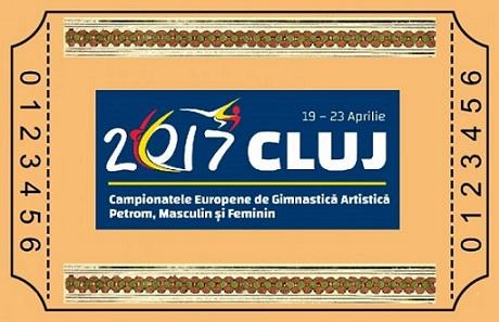 Toate categoriile de bilete pentru Campionatele Europene de gimnastica artistica Petrom au fost puse in vanzare