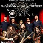 Castigatorii celor 2 invitatii duble la concertul The Moon and The Nightspirit & Irfan