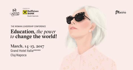 Castigatoarea biletului de acces tip Conference la evenimentul Conferința de Leadership Feminin The Woman