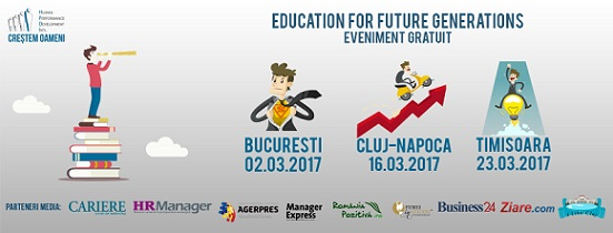 16 martie Education for Future Generations