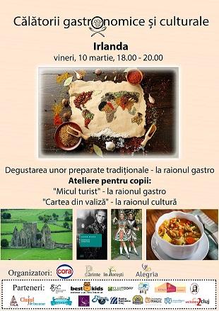 10 martie Calatorii gastronomice si culturale – Irlanda