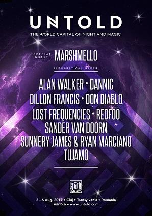 Marshmello și Alan Walker, doi dintre cei mai misterioși DJ ai lumii, urcă în vară pe Untold Arena