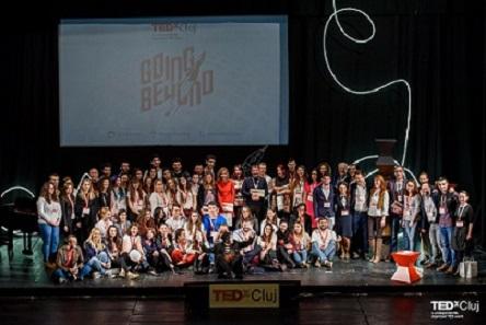"""TEDxCluj 2017, la final: """"Am mintea plină de gânduri și mă duc să le gândesc"""""""