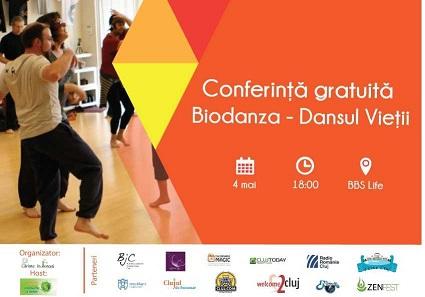 Conferinta gratuita Biodanza – Dansul Vietii