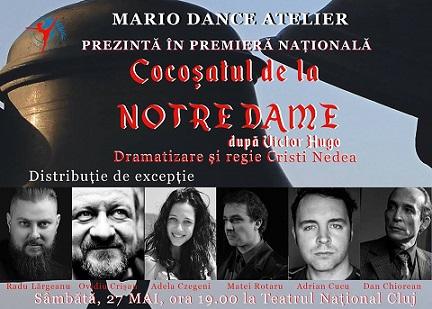 Castigatorul invitatiei duble la spectacolul Cocoșatul de la Notre Dame