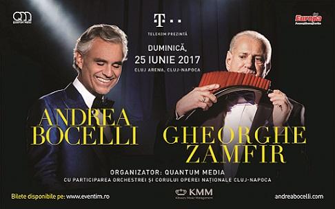 25 iunie Concert Andrea Bocelli