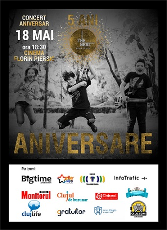 18 mai Concert 5 ani The Beat
