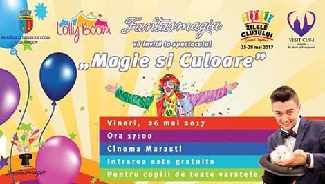 26 mai Magie și Culoare