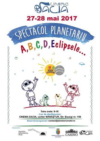27-28 mai Spectacol despre eclipse și anotimpuri
