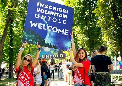 Vrei să faci parte din magia Untold si Neversea? Inscrie-te acum în echipa de voluntari!