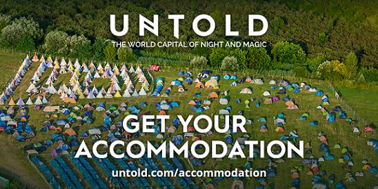 Ia-ti acum unul din cele 3000 de locuri de cazare în campingul UNTOLD 2017!