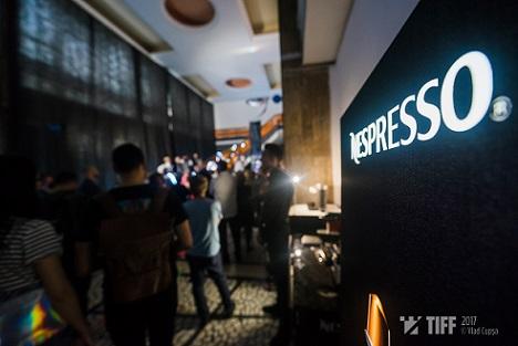 Nespresso aduce experiența cafelei la superlativ la TIFF
