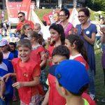 Peste 3.000 de copii, părinţi şi bunici la cea de-a VI-a ediție  Bucurie în Mişcare Cluj-Napoca