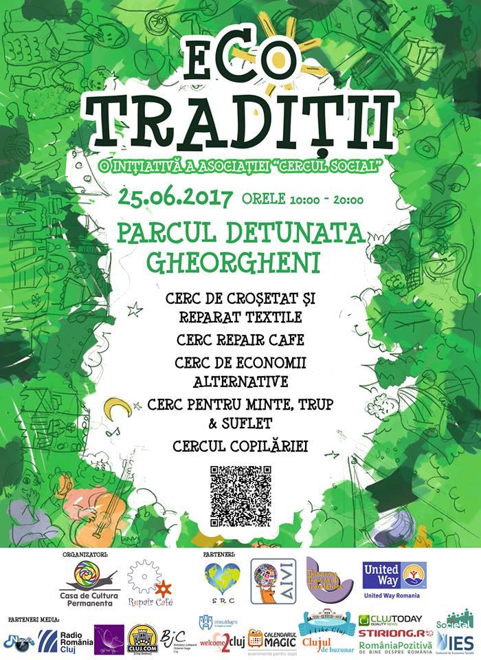 EcoTradiţii ajunge în Parcul Detunata din Cluj