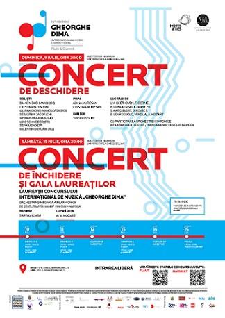 9-15 iulie Concursul Internațional de Muzică GHEORGHE DIMA