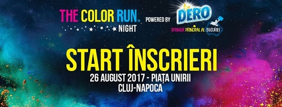 26 august The Color Run Night