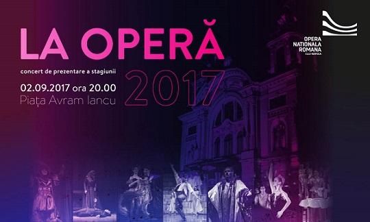 2 septembrie La Operă