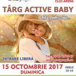 15 octombrie Targ pentru copii Active Baby