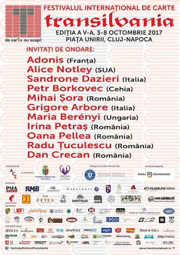 Programul Festivalului Internațional de Carte Transilvania
