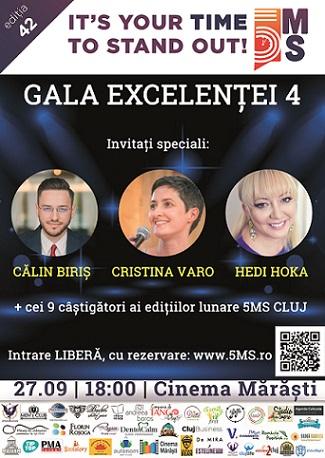 27 septembrie Gala Excelentei 5MS