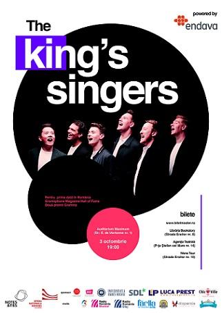 Castigatorul invitatiei duble la spectacolul The King's Singers