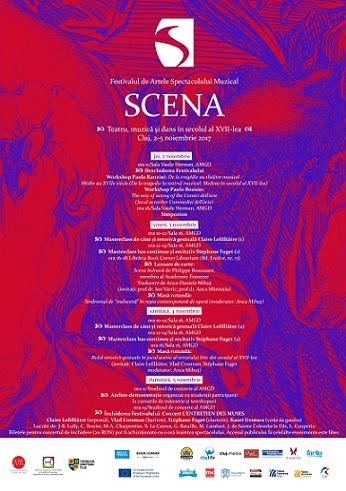 2-5 noiembrie Festivalul de Artele Spectacolului Muzical SCENA