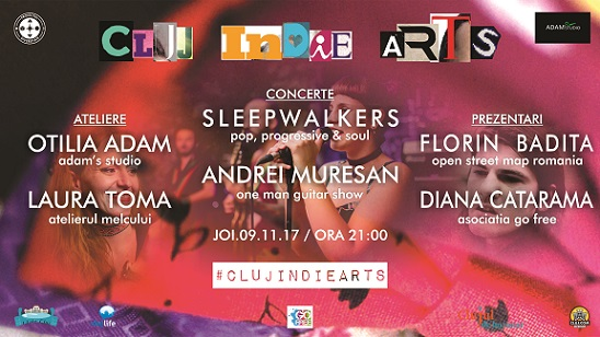9 noiembrie Cluj Indie Arts