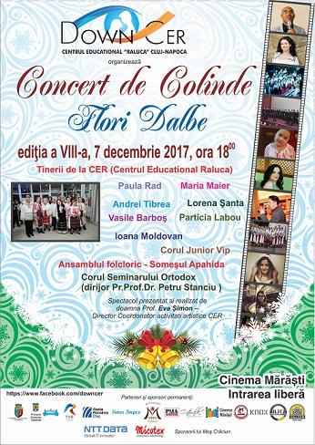"Concert de colinde ""Flori Dalbe"""