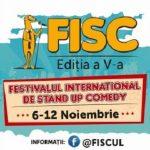 6-12 noiembrie Festivalul Internaţional de Stand-Up Comedy